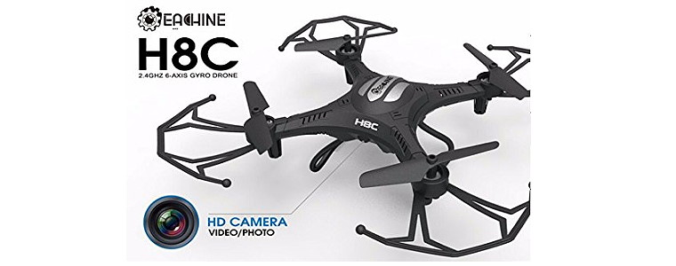 Eachine H8C Quadcopter 2.0MP HD Camera Reviews